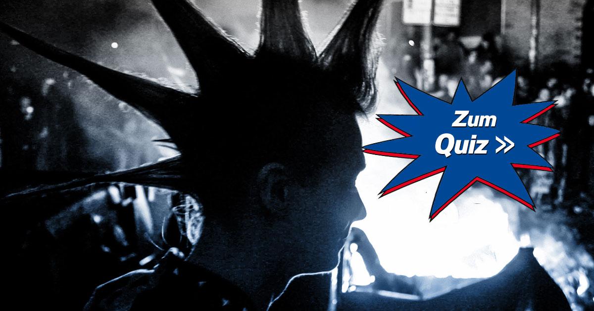 Rank und Punk: Das ROCK ANTENNE Punkrock-Quiz!