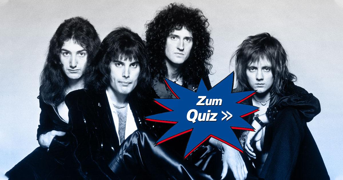 We Will, We Will Ask You: Wie gut kennst du Queen?