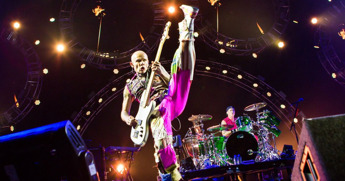 Flea: Der Floh am Bass der Red Hot Chili Peppers im Porträt
