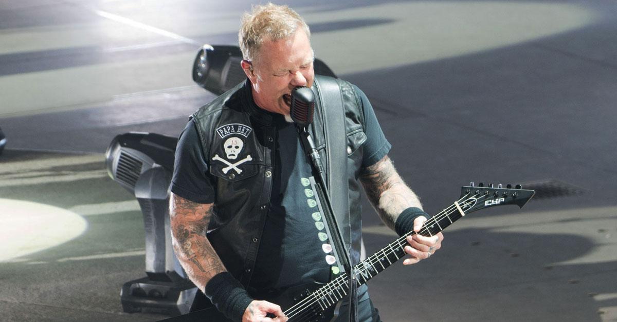 James Hetfield: Die besten Sprüche und Geschichten des Metallica-Fronters