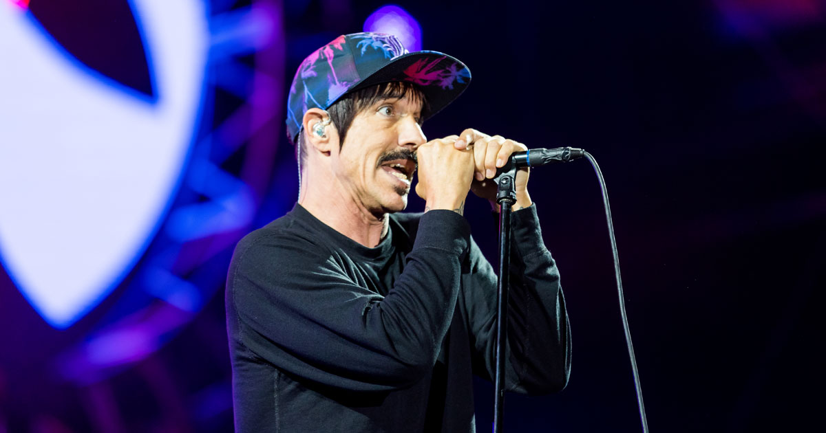 Red Hot Chili Peppers: 5 pikante Geschichten über Anthony Kiedis