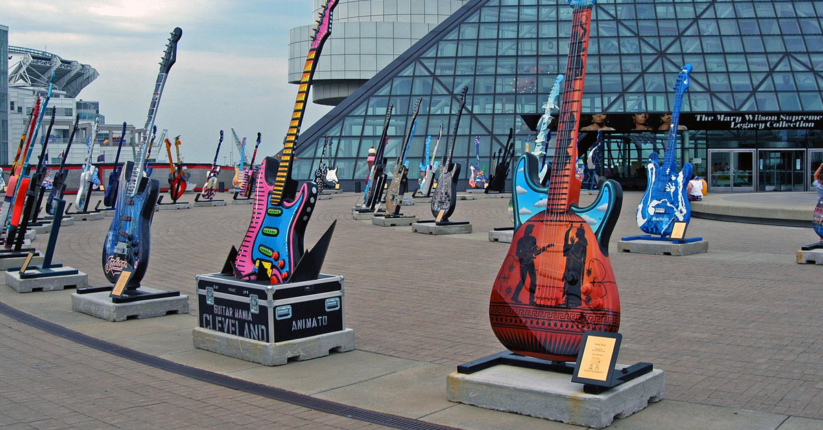 Rock and Roll Hall of Fame: Die Highlights der Ruhmeshalle