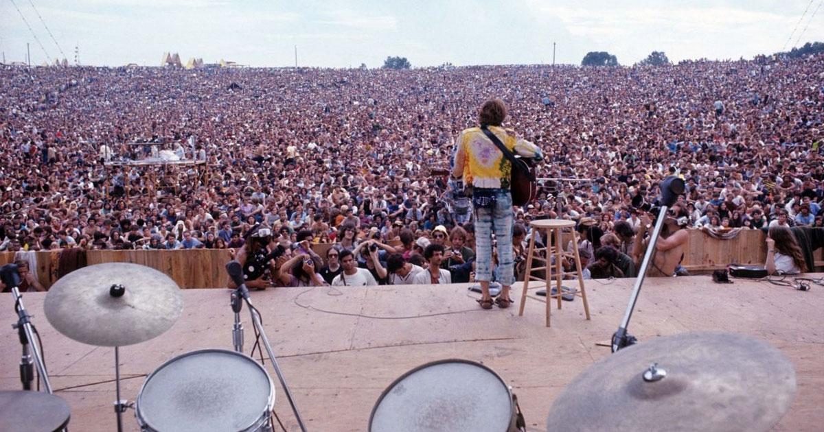 Love, Peace and Rock'n'Roll: 10 Fakten über das legendäre Woodstock-Festival