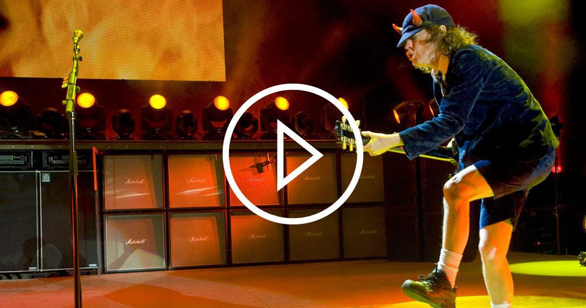 AC/DC live: Die besten Konzerte der Rock-Giganten in voller Länge