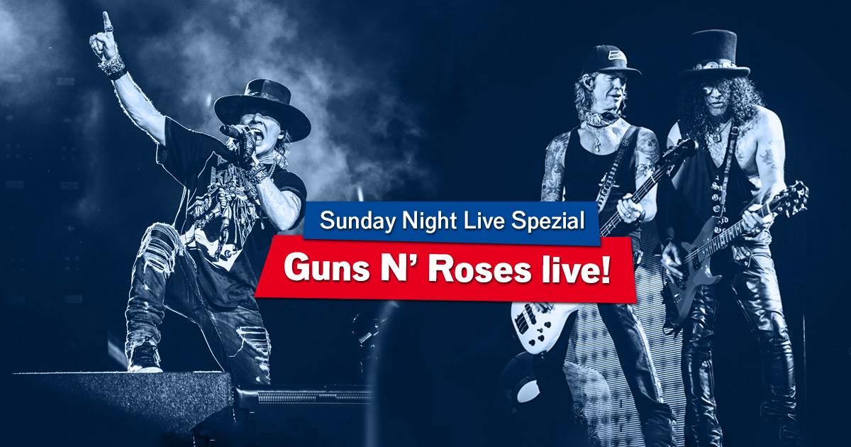 Sweet Song O' Mine: Wünscht euch eure Lieblings-Guns N' Roses-Songs!