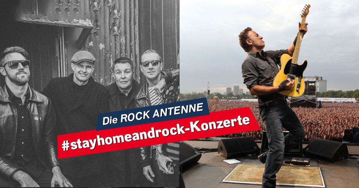 #stayhomeandrock: Seht hier das Online-Konzert der Dropkick Murphys und Bruce Springsteen