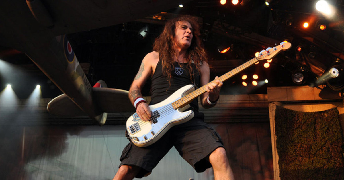 Can I Play With Basses: Iron Maiden-Gründer Steve Harris wird 64