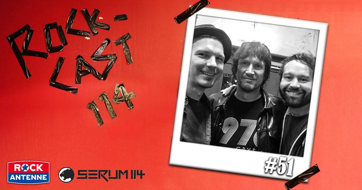 Rock-Cast 114 - Die Late Night Show: Folge 51 - Alex Schwers von Slime
