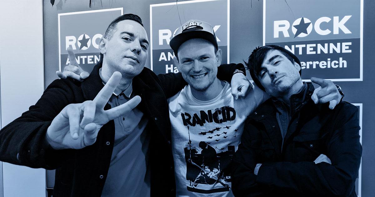 Whole Lotta Talk: Justin Sane & Chris#2 / Anti-Flag