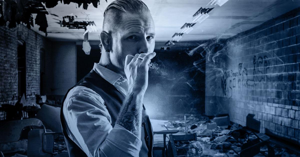 Corey Taylor von Slipknot und Stone Sour im ROCK ANTENNE Interview