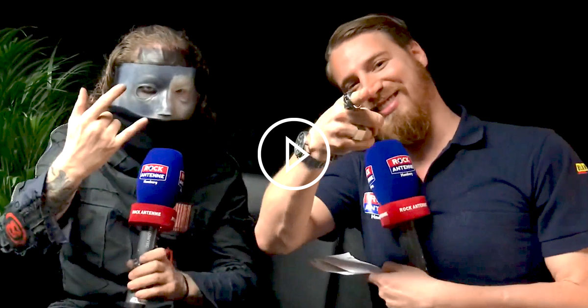 Slipknot 2019: Das ROCK ANTENNE Interview mit Corey Taylor