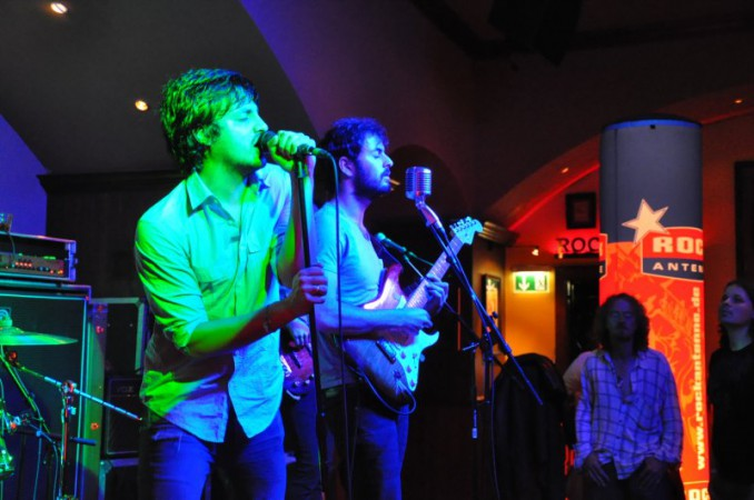 ROCK ANTENNE @ Hard Rock Cafe München - Young the Giant