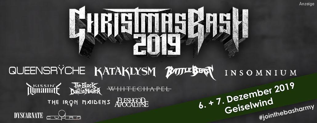 06.+07.12.: CHRISTMAS BASH / Geiselwind
