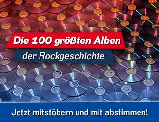 Die 100 größten Alben der Rockgeschichte