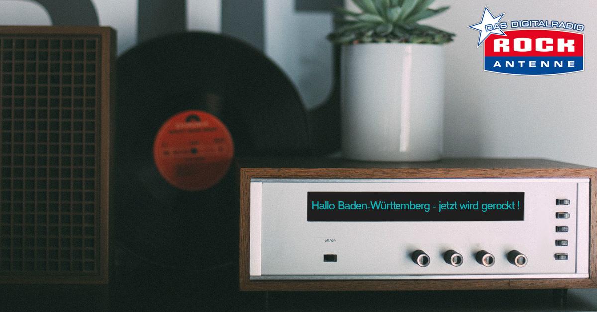 Ba-Wü rockt: Holt euch ein DAB+-Radio für die neue ROCK ANTENNE Frequenz in Baden-Württemberg!