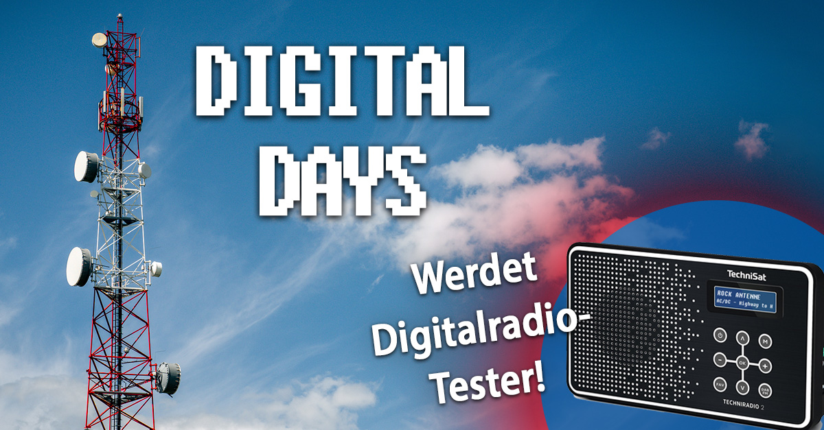 Werdet Digitalradio-Tester!