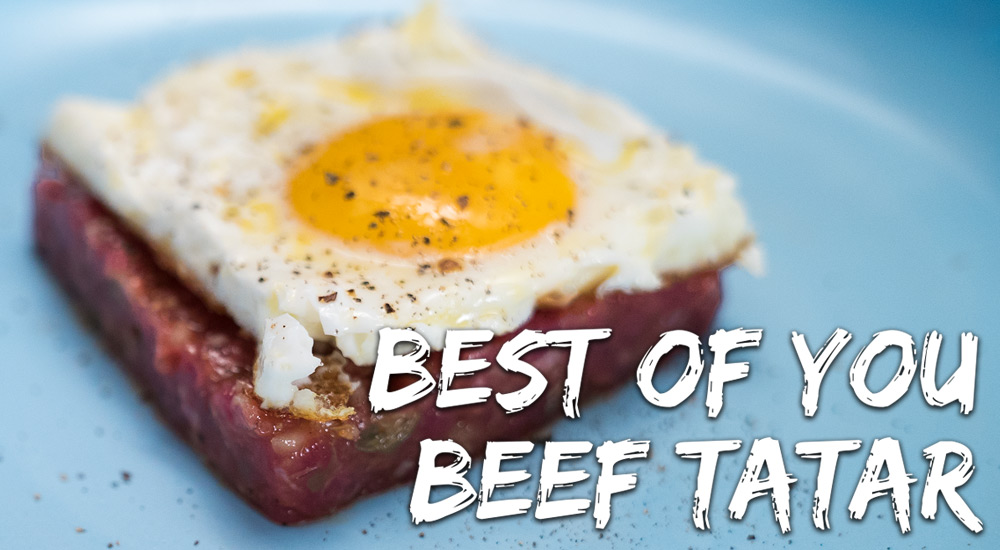 Best of You Beef Tatar