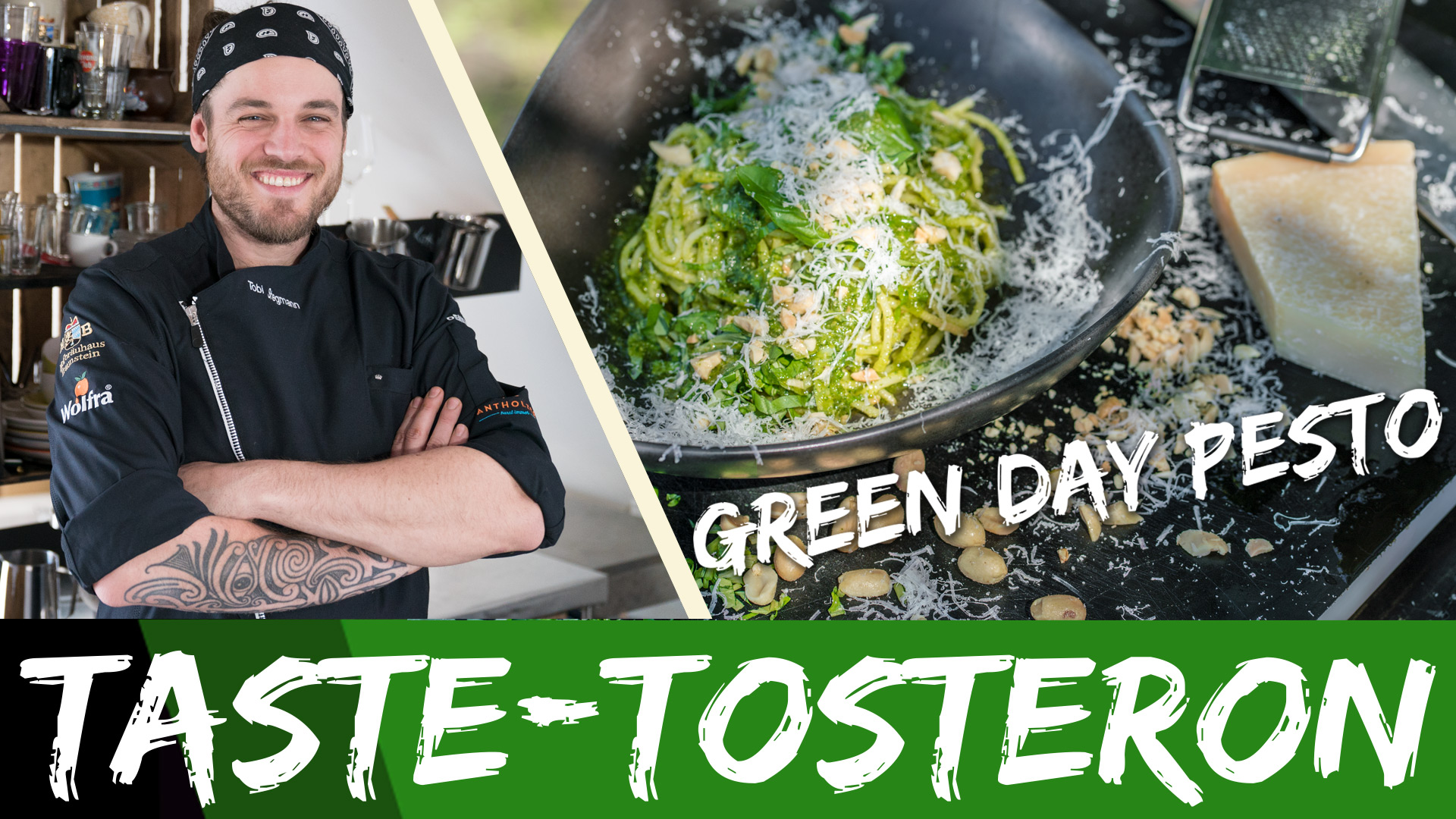 Taste-Tosteron: Green Day Pesto