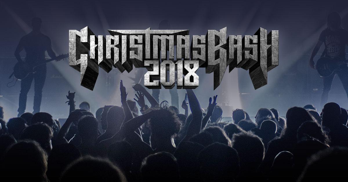 07.12. - 08.12.2018: Der Christmas Bash in Geiselwind - präsentiert von ROCK ANTENNE