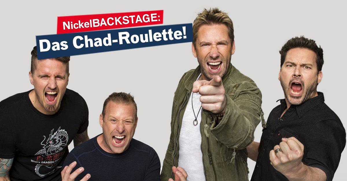 Nickelback live im Proberaum: Spielt mit uns Chad-Roulette!