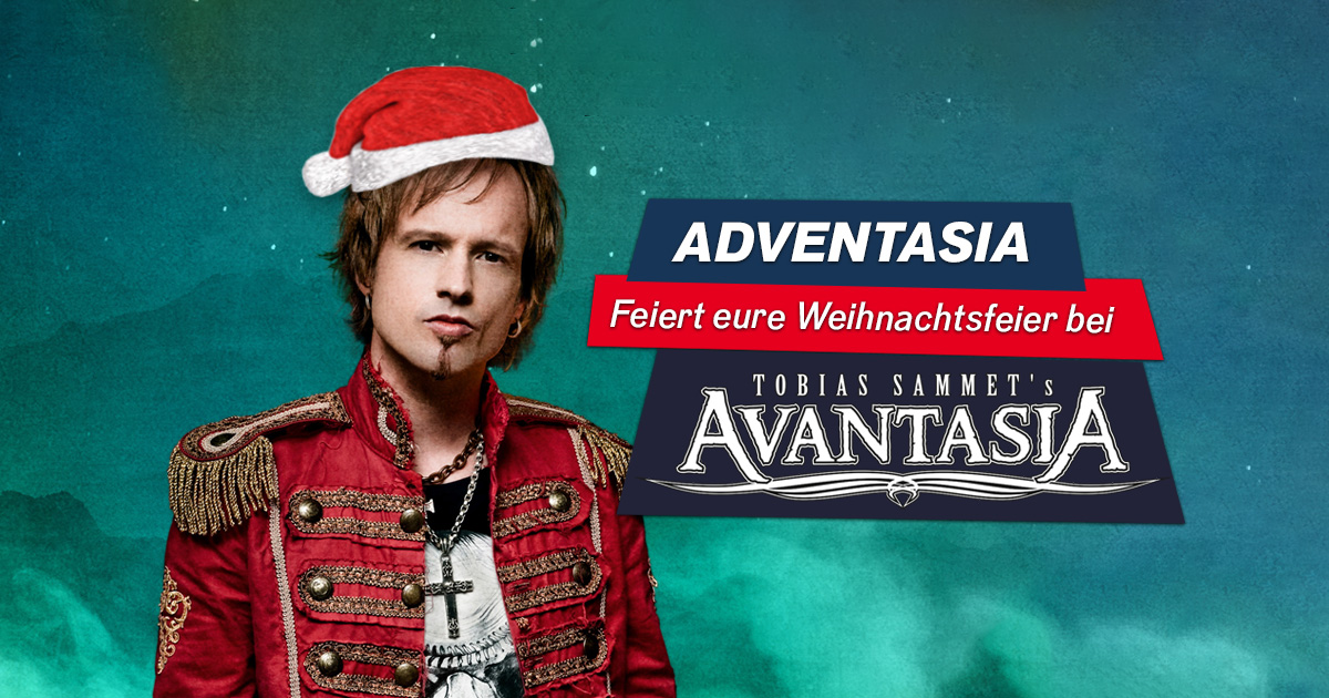 Adventasia: Feiert eure Weihnachtsfeier bei AVANTASIA!
