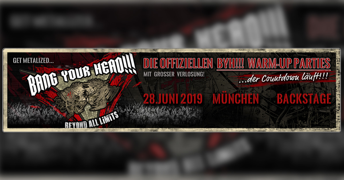 Metal Night Spezial: Bang Your Head!!! Warm Up am 28.06.