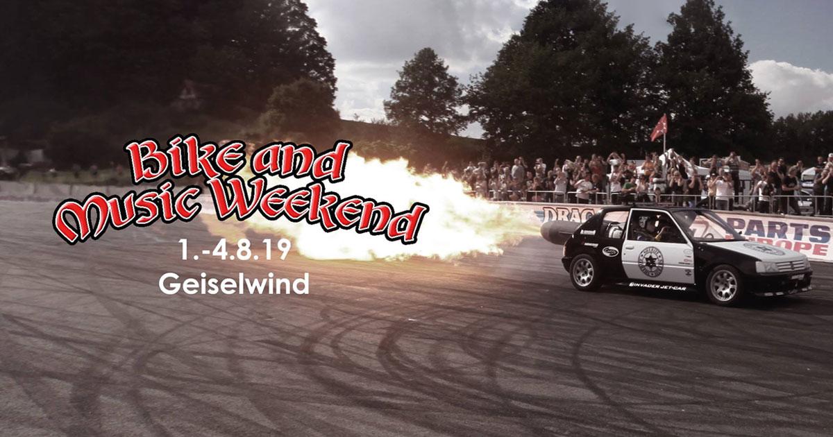01.-04.08.2019: Bike and Music Weekend in Geiselwind - präsentiert von ROCK ANTENNE