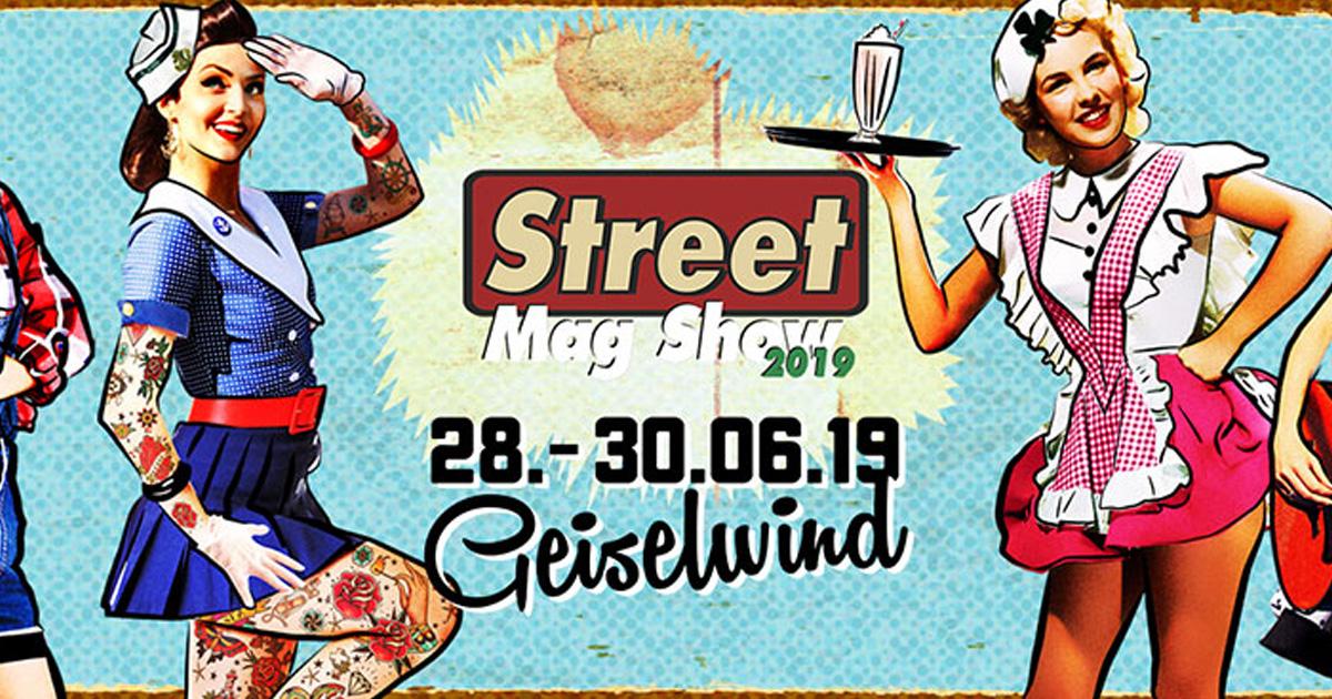 Oldtimer, Rockabilly und Tattoos: Das Street Mag' Festival 2019 von 28. bis 30.06.