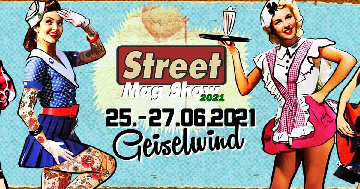 Oldtimer, Rockabilly und Tattoos: Das Street Mag' Festival 2021 von 25.-27.06.