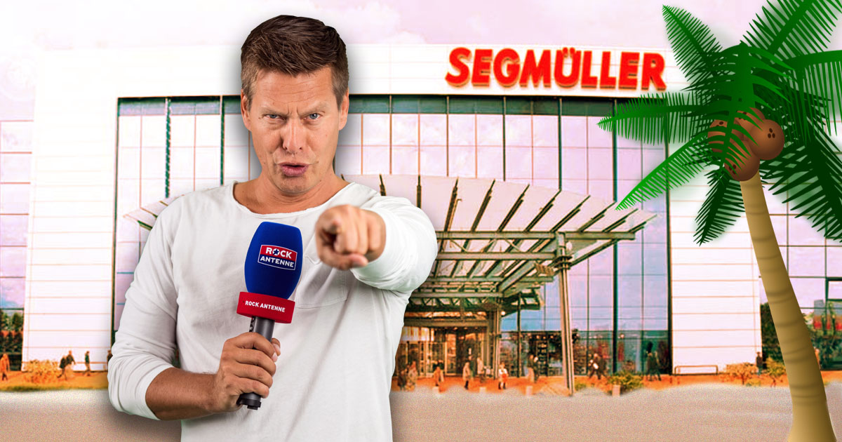 """07.09: Du gegen den Wahnsinns-Wangler """"on the beach"""": Die Challenge bei Segmüller!"""