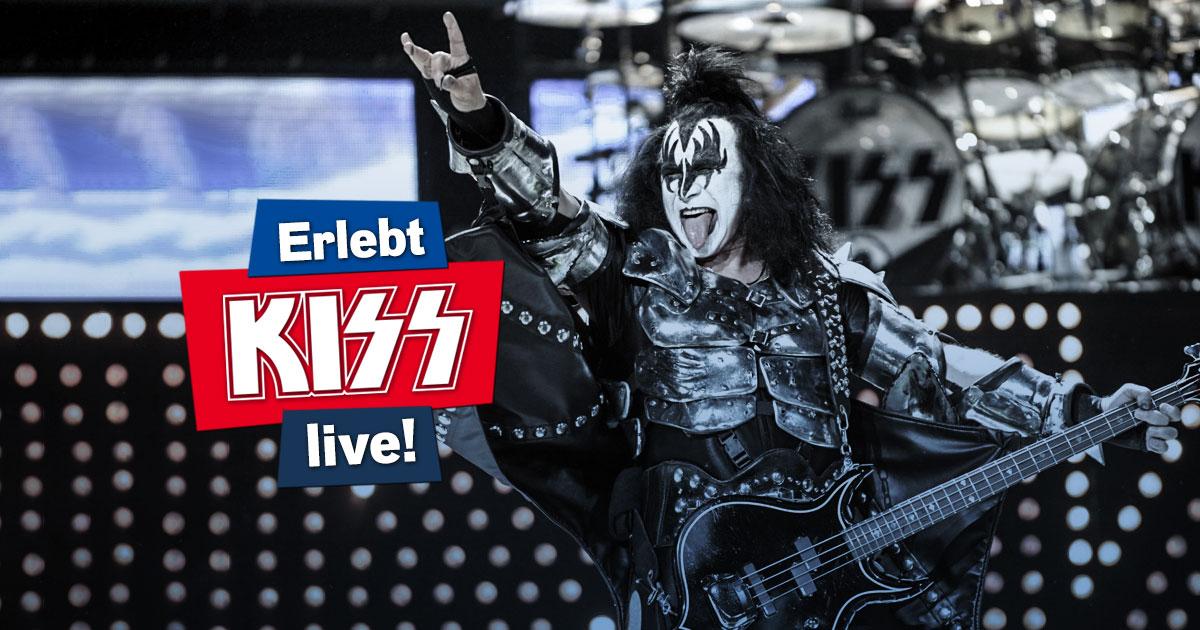 KISS live: Wir laden euch ein zum Open Air Konzert in München!
