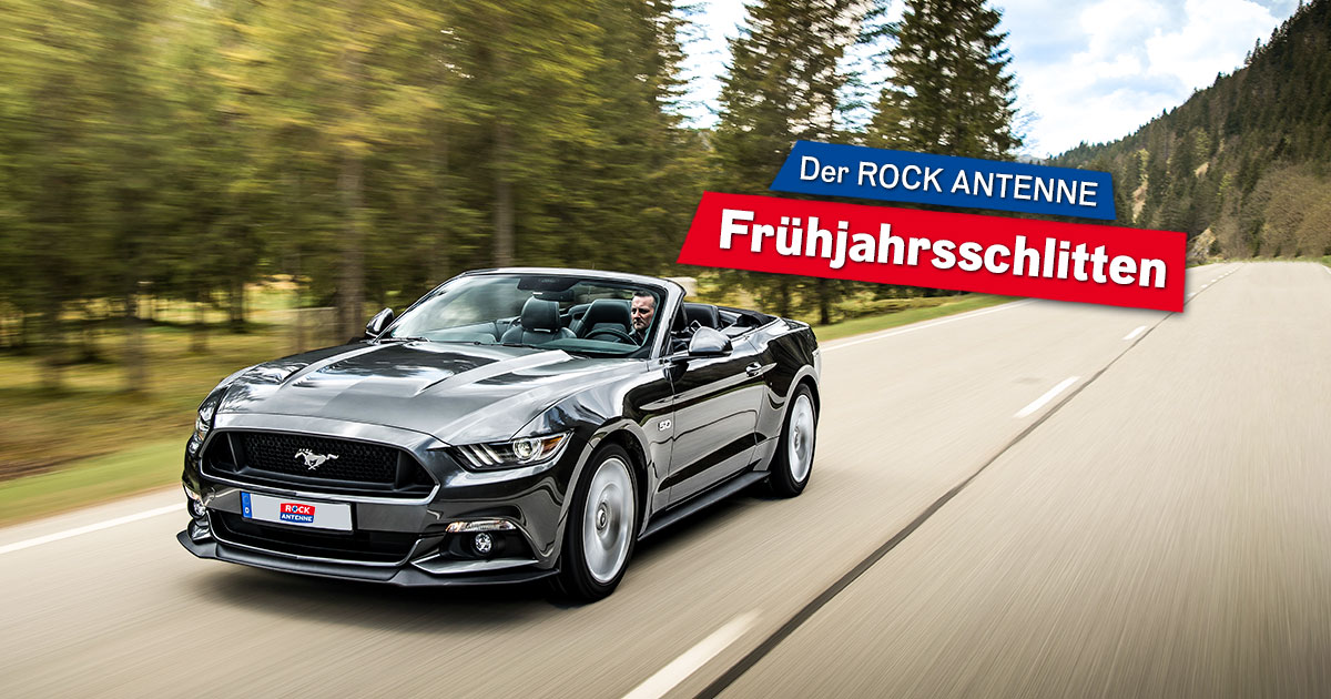 Holt euch unser Ford Mustang Cabrio!