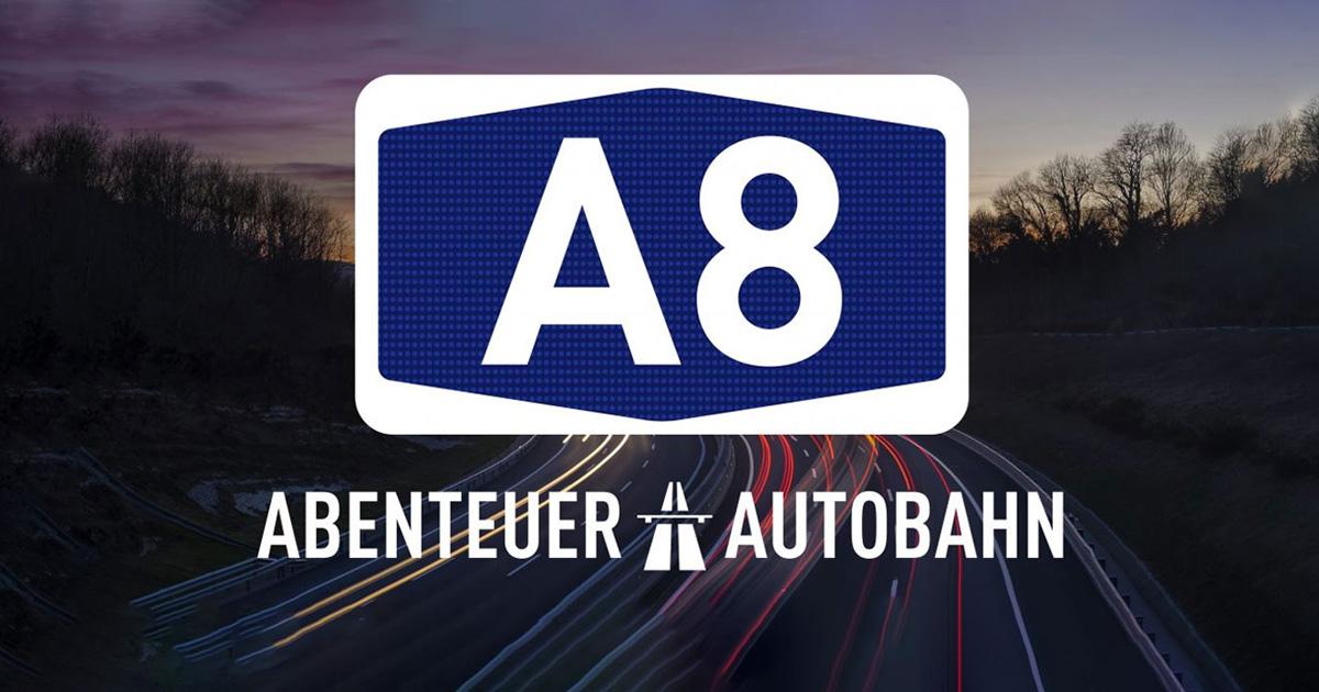 """""""A8 - Abenteuer Autobahn"""" - Holt euch 100 Euro Tankgutschein!"""