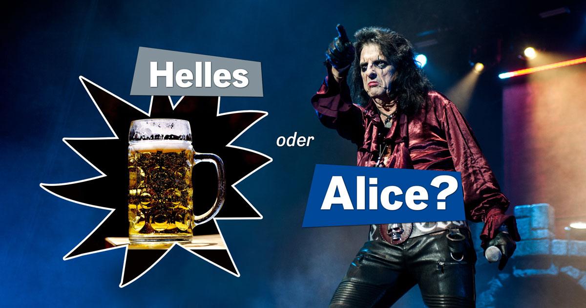Rocken & Zocken Spezial: Helles - oder Alice?