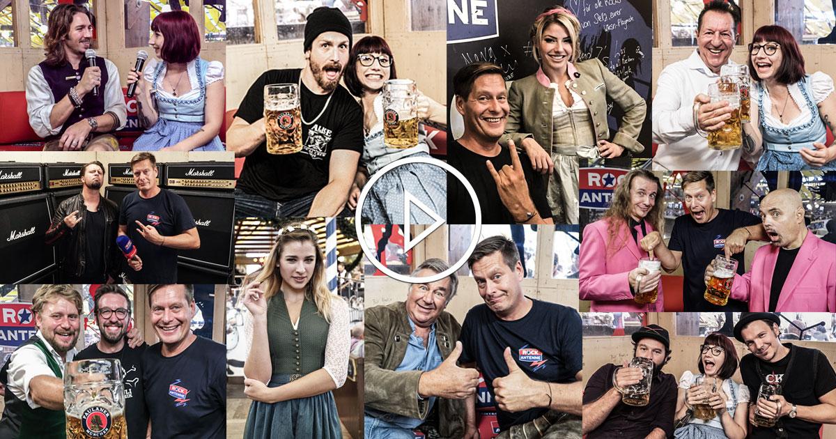 Das ROCKtoberfest Studio: Alle Interviews im Überblick
