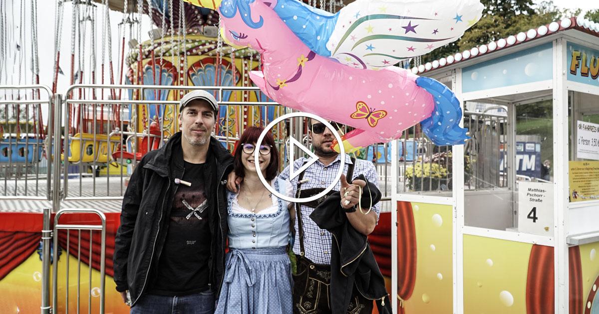 Emil Bulls: Christoph und Moik im ROCKtoberfest Interview
