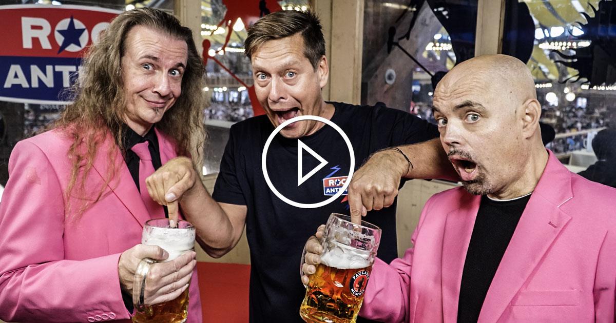 J.B.O.: Die pinken Gaudi-Granaten im ROCKtoberfest Interview