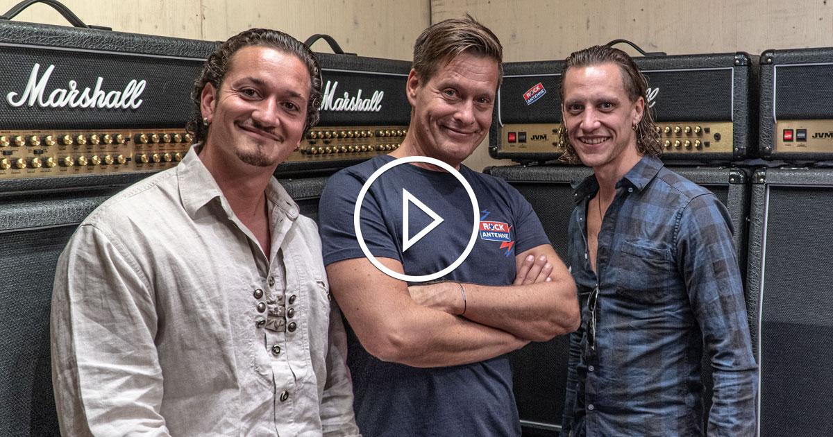 Kissin Dynamite: Ande und Andi im ROCKtoberfest Interview