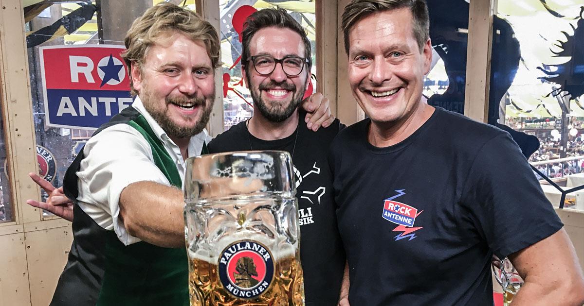 La Brass Banda: Stefan Dettl und der Heli-Fabian im ROCKtoberfest Interview