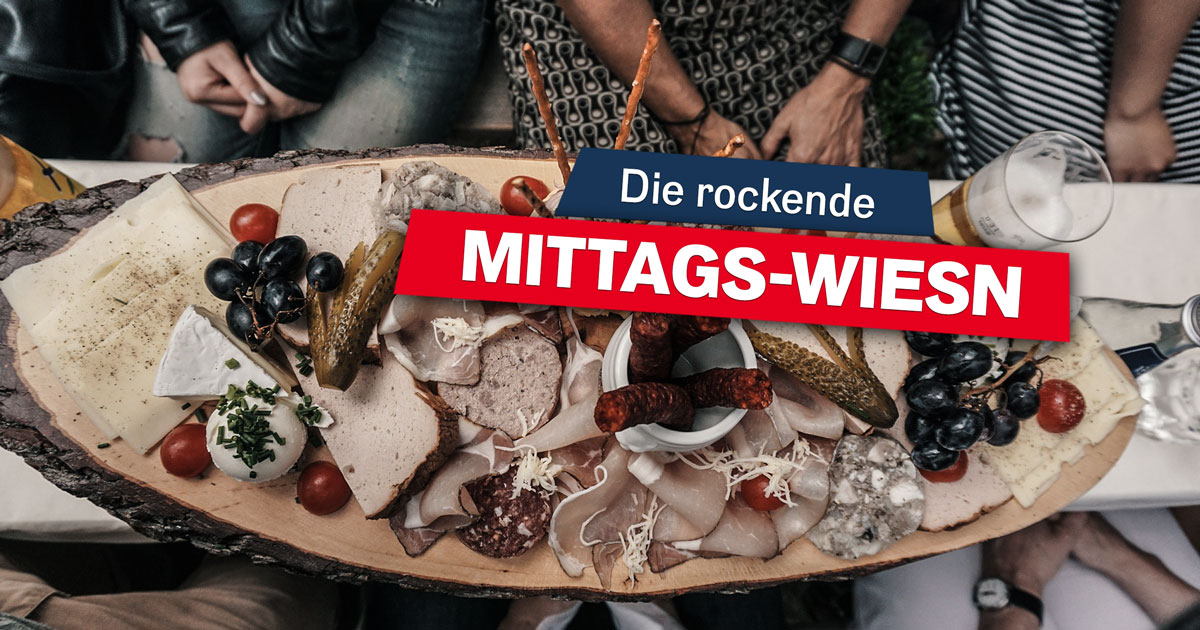 Rock your Job: Reserviert euch den ROCK ANTENNE Mittags-Wiesntisch!