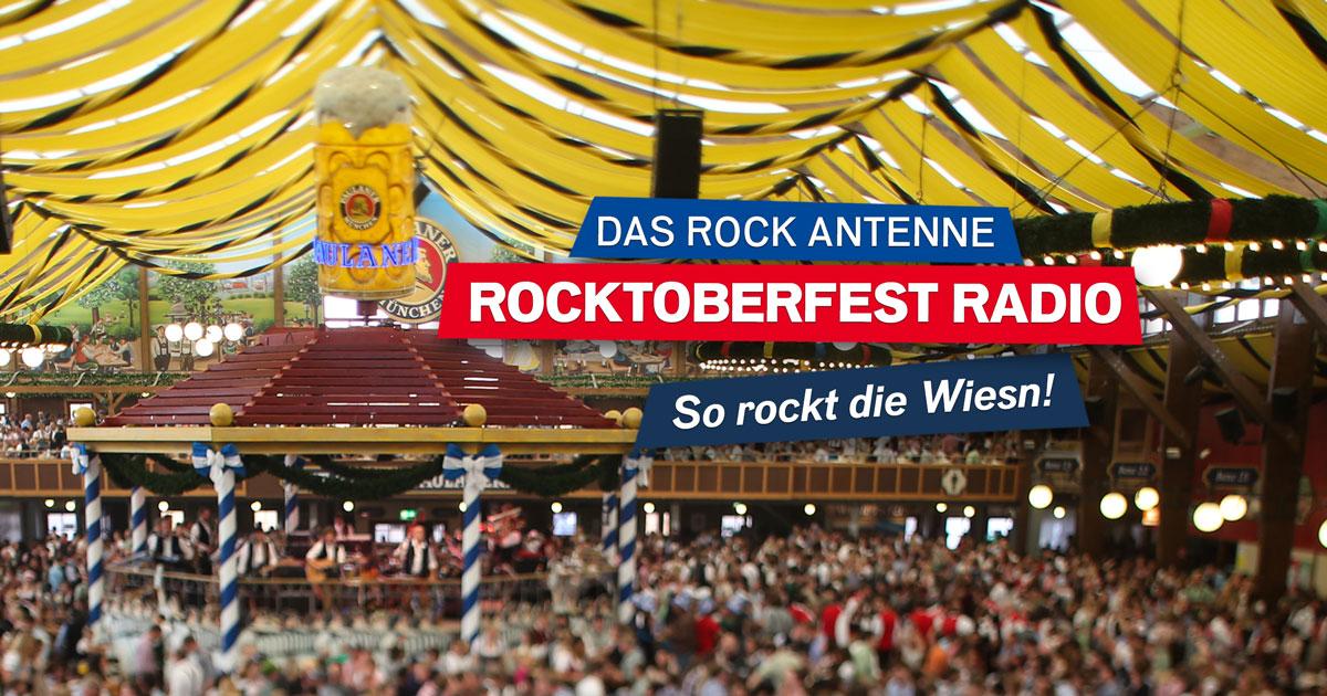 Alle Infos zu ROCK ANTENNE als offiziellem ROCKtoberfest Radio 2019