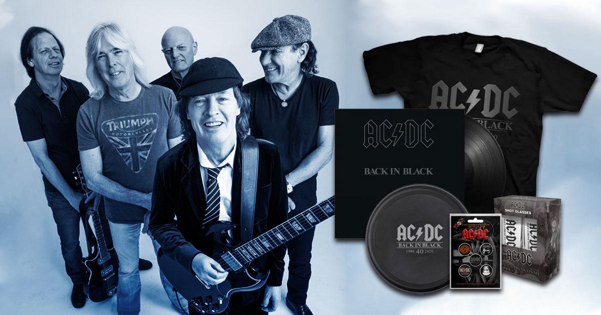 40 Jahre Back in Black: Erzählt uns eure AC/DC Stories und staubt ein exklusives Fan-Paket ab!