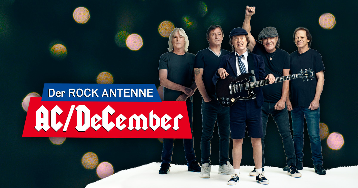 Der AC/DeCember auf ROCK ANTENNE!