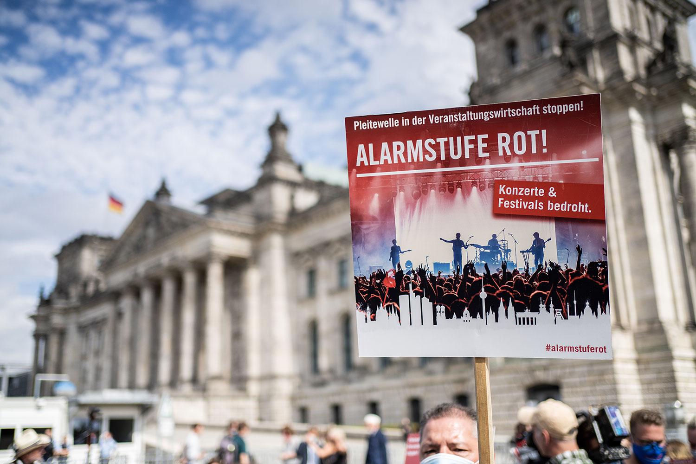 #AlarmstufeRot: Alle Infos zum Bündnis zur Rettung der Veranstaltungsbranche