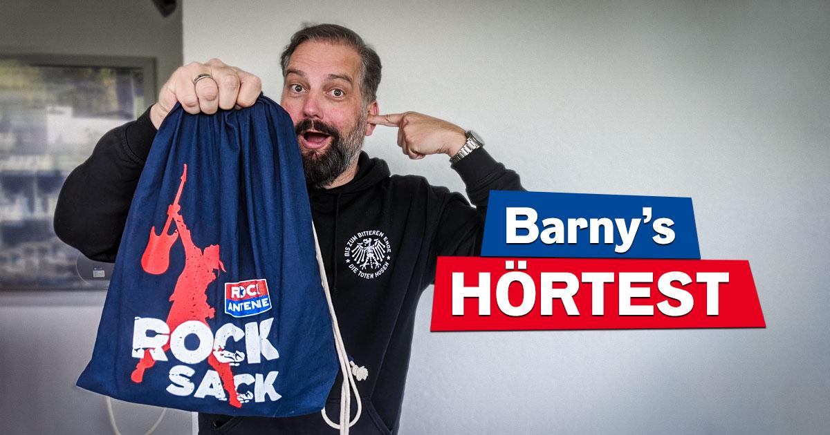 Barny's Hörtest: Gut aufpassen und Rocksack abstauben!