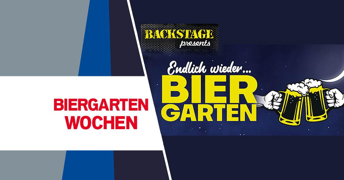 Die Biergarten Wochen: Jetzt Gutschein sichern!