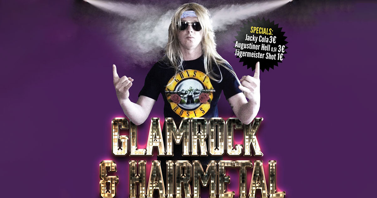 30.01.: Hairmetal Party mit DJ Thomas Moser im Backstage München