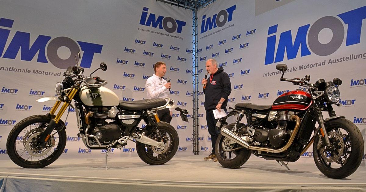 IMOT 2020 von 14.-16.02.: Die 27. Internationale Motorrad Ausstellung
