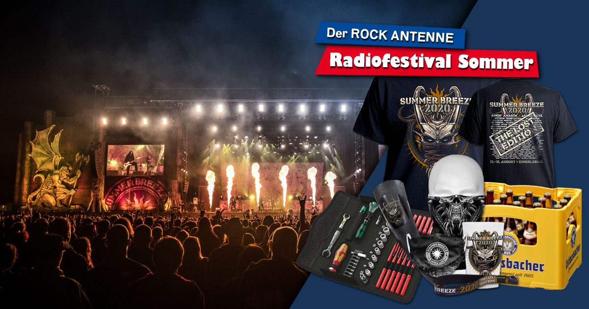 SUMMER BREEZE im Radio-Edit: Holt euch unser Festival-Package!