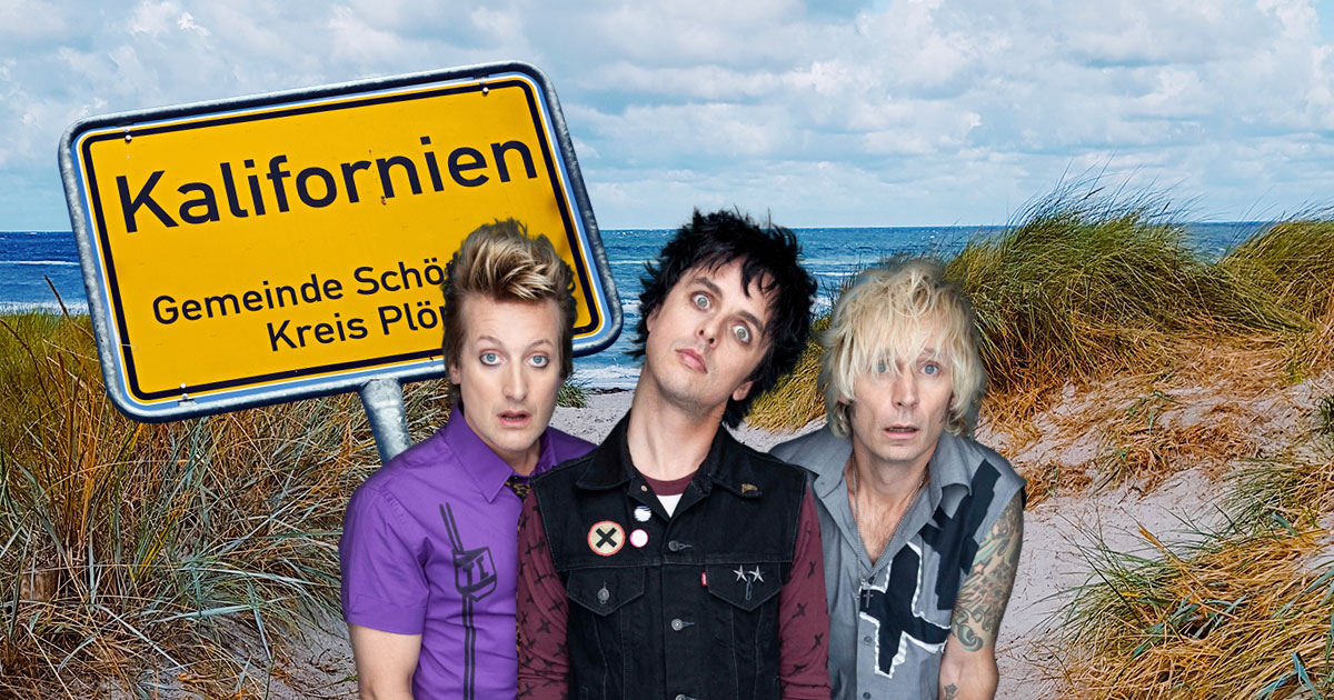 """Holiday"" in Kalifornien: Holt Green Day an die Ostsee!"